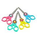Five Petals Plastic Handle Scissors(Random Color)