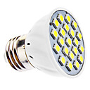 3W E26/E27 LED Spotlight MR16 21 SMD 5050 240 lm Natural White AC 110-130 / AC 220-240 V