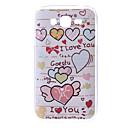 Herz-Muster Hülle für das Samsung Galaxy I9082 Große Duos
