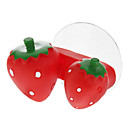 Strawberry Shaped Toothbrush Holder with Sucker