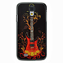 Fashion Guitar Pattern Aluminum Hard Case for Samsung Galaxy S4 I9500