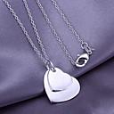 Серебряный узор сердца кулон (подвеска только)