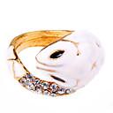 Змея подарков ювелирные изделия корейской версии небольшой белый Snake Ring