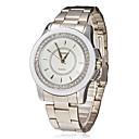 Women's Diamante Dial Alloy Band Quartz Analog Wrist Watch (Assorted Colors)
