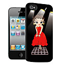 Cartoon Pattern 3D Effect Case for iPhone5