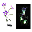 Color Changing Solar Lily Flower Stake Light (CIS-58263A)