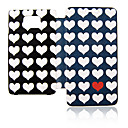 Loving Heart Leather Case for Samsung Galaxy S2 I9100