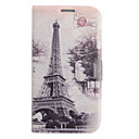 Colored Drawing forest Irony Leather Case for Samsung Galaxy S4 I9500
