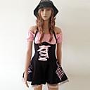 Довольно черный и розовый спандекс Пиратские костюмы (3 шт)