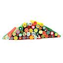 20pcs Cute 3D Fruits Nail Art FIMO Canes Rods Decoration