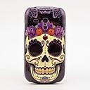 Цветок череп шаблон Футляр задняя крышка для Samsung Galaxy S3 Mini I8190