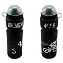 650 мл MTB ПВХ Mountain Bike бутылки воды с пылезащитный колпачок