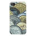 Currency Wars Pattern Matte Designed PC Hard Case for iPhone 4/4S