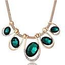 LuremeTeardrop ромбовидной формы себе ожерелье