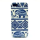 Слон Tribal Pattern ковров Hard Cover чехол для iPhone 5 / 5S