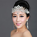 Lureme®Bridal Crystal Tiara Crown Hair Accessories For Wedding Quinceanera Tiaras And Crowns