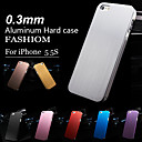 0.3Mm Thin Brushed Aluminum Hard Case for iPhone 5/5S/5G(Assorted color)