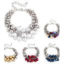 Elegant Grapes Styling Droplets Pearl Handmade Bracelet (1 Pc)