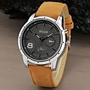 Men's Watch Military Water Resistant Leather Band Wrist Watch Cool Watch Unique Watch Fashion Watch