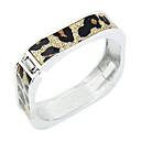Leopard-Muster-Quadrat-Muster-Armband (verschiedene Farben)