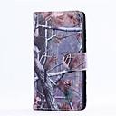 Кора зерна Стиль всего тела кожаный чехол с карты памяти для LG G3