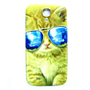 Животное Прохладный Cat шаблон Тонкий Hard Cover чехол для Samsung Galaxy S4 Mini I9190