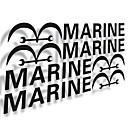 Морские Двери автомобиля на палке. (4PC)