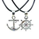 Сплав Anchor Руль ожерелье пары