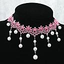 Handmade элегантный сладкий принцесса дольше жемчужина цепи ожерелье