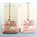 Розовый узор велосипедов Циркон инкрустированные Флип Folio чехол для Samsung 8552