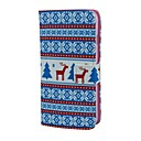 Снег и Дир шаблон PU кожаный чехол для всего тела с карты держатель для iPhone 6 Plus
