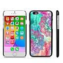 Стильный чехол рисунком жесткого пластика Snap On для iPhone 6 Plus
