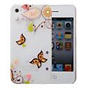 Многоцветный узор PC Матовый чехол для iPhone 4 / 4s