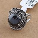 Мода Ретро Rhienstone Dome кольца произвольного размера