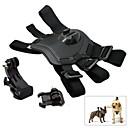 Fetch собака грудной обвязкой плечевой ремень Пояс Mount Пряжка J крюк комплект для GoPro Hero4 / 3/3 / SJ4000