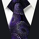 Q25 Shlax крыла Шелковые галстуки Галстуки Синий Фиолетовый вихрем шаблон Мода