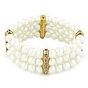 Fashion  Temperament Diamond Pearl Bracelet