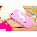 Силиконовый материал Прекрасный Стиль Собаки для iPhone 6 (разных цветов)