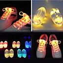 Light Up шнурки ручки зарева СИД обувь Шнурки Темный Свадьба ДИСКО (ассорти цветов)