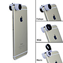 Apexel TEOG 3-в-1 Quick Change 10X Макро Широкоугольный объектив рыбий глаз для iPhone 6 iPhone 6 Plus
