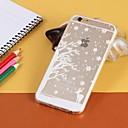 Прозрачный / Графический / Специальный дизайн ТПУ Назад Чехол для iPhone 6 Plus