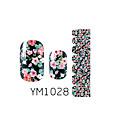 14pcs Nail Art Наклейки Серия YM1028