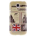 Британский стиль дизайна ТПУ Мягкий чехол для Samsung Galaxy I9190 S4 Mini