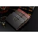 Бизнес кошелек стиль Твердый Як Реальный кожаный чехол с подставкой для Samsung S6 краю