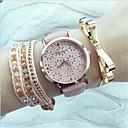 Дамы Цветочные часы, женские часы, Аналоговые, искусственная кожа Студенты Цветок Часы наручные