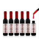 6 Colors Liphop Wine Bottle Shape Wine Extract Liquid Lip Gloss Lip Stain