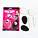 6 Pcs Women Silica Gel Forefoot Pad Insole High Heeled Shoes Forefoot Pad Heel Cushions