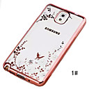 Secret Garden Series TPU Phone Shell Plating for Samsung Galaxy Note 3/Note 4/Note 5
