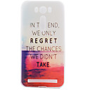 TPU Material Red Sea Painted Pattern Soft Phone Case for Asus ZenFone Max ZC550KL