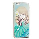Kakashi fiore serie della principessa pittura TPU custodia morbida per iPhone 6S / 6 / 6S plus / 6 più (crisantemo)